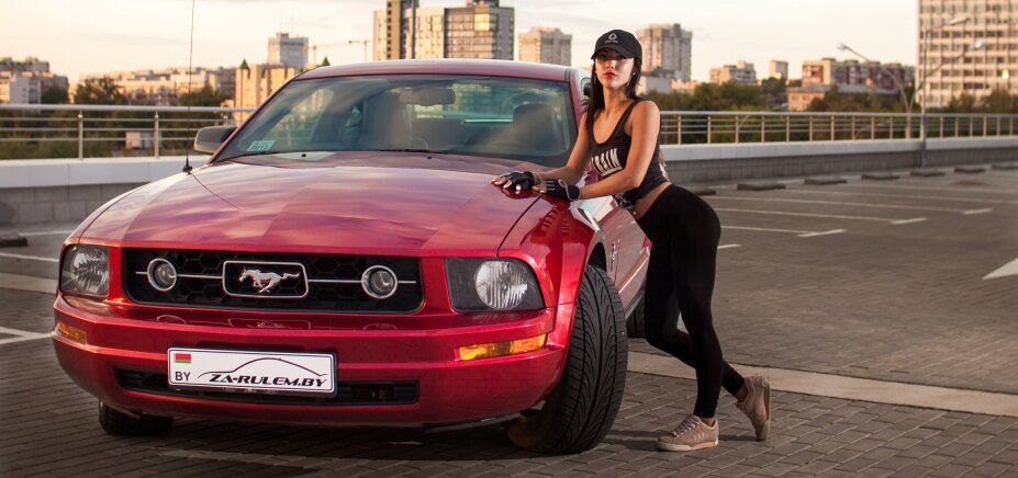 Фотосъемка Ford Mustang